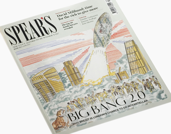 Introducing the new issue of Spear's