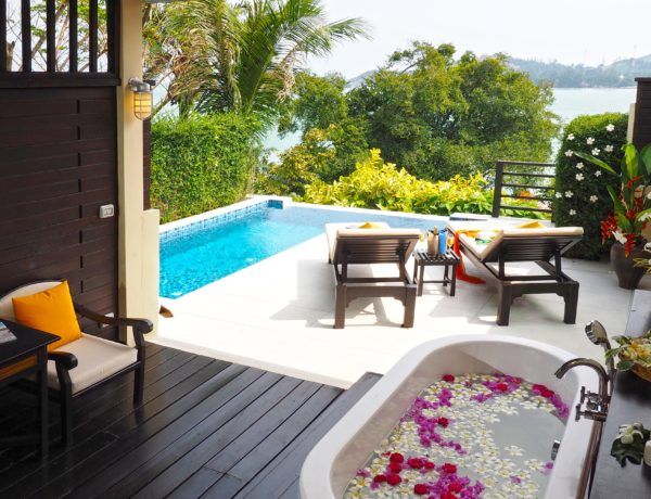 The Tongsai Bay, Koh Samui, Thailand, creates five new pool cottages