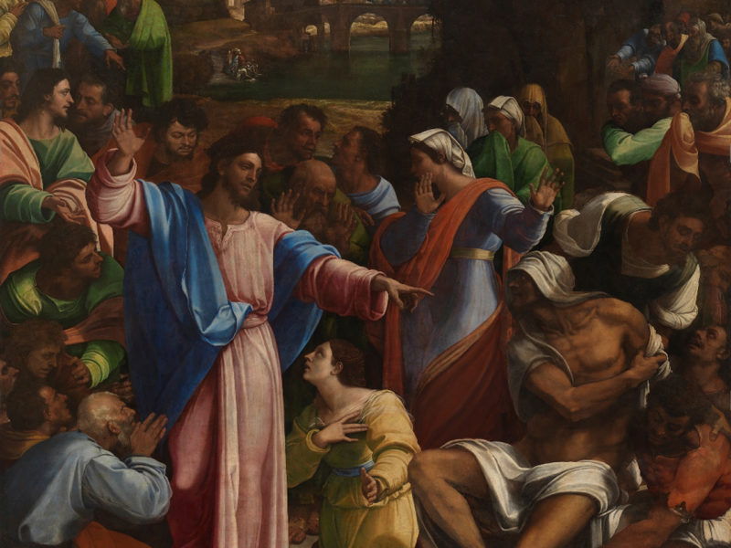 Michelangelo and Sebastiano unite at the National Gallery
