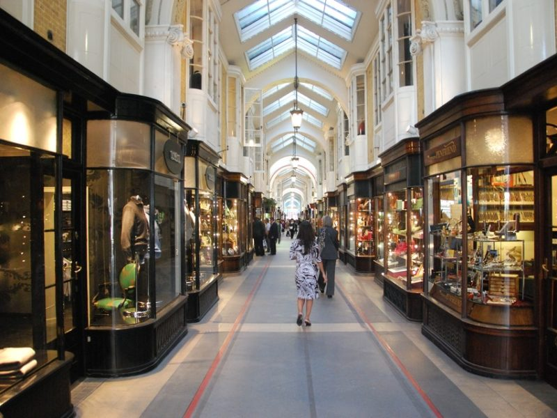 Burlington Arcade looks to the future