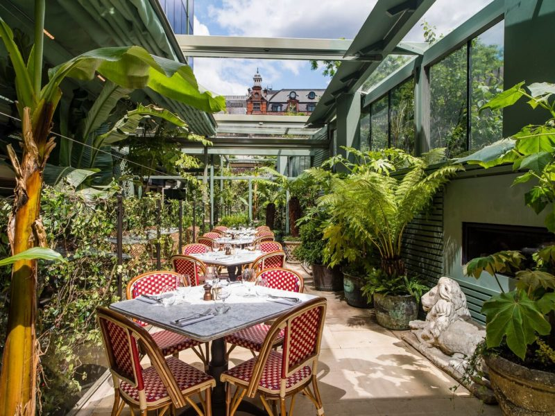 Review: The Ivy, City Garden