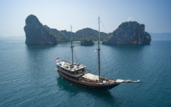 Archipelago adventures on board Indonesia's top private yacht