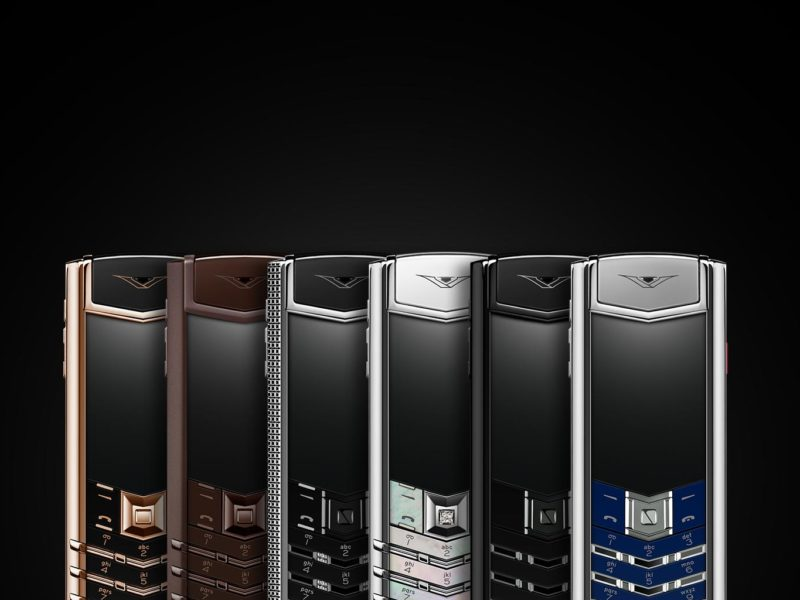Vertu's phones remain a pricey commodity despite auction