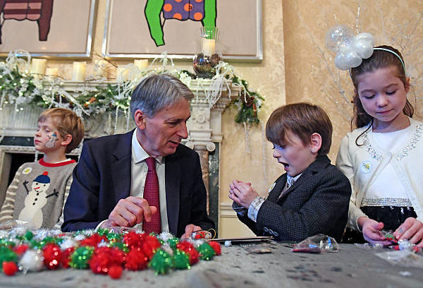 The Chancellor played both Santa and Scrooge in the Budget