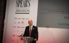 Gerrard Tyrrell wins Spear's Outstanding Achievement Award