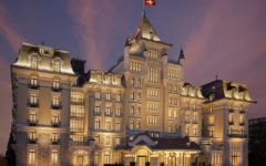 Raise a glass at the Royal Savoy Hotel & Spa, Lausanne