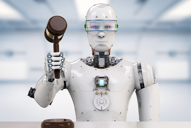 Humans can win the race against robot lawyers