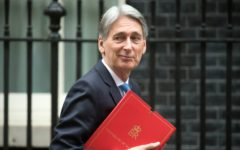 Hammond hails 'light at the end of the tunnel' for economy