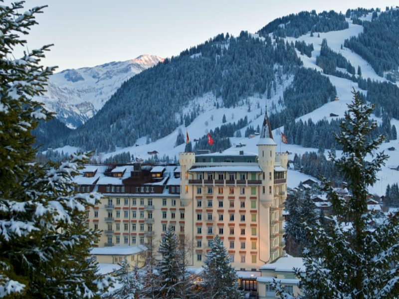 Reaching new heights with Gstaad Palace's heli-safari