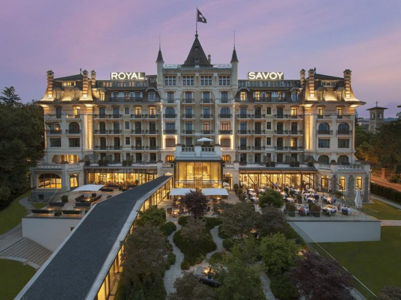Royal Savoy launches Swiss wellness retreat in Lausanne