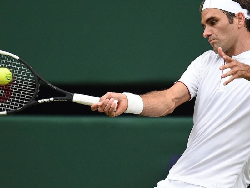 What about Roger Federer's tennis obsession?