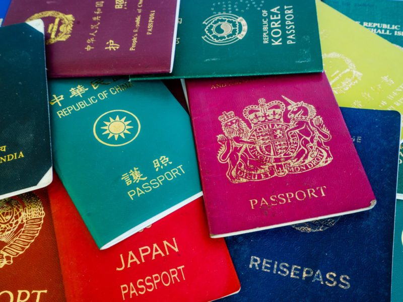 How many passports does an HNW need?