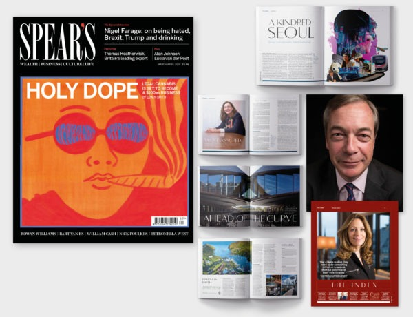 HOLY DOPE – inside the latest issue of Spear's