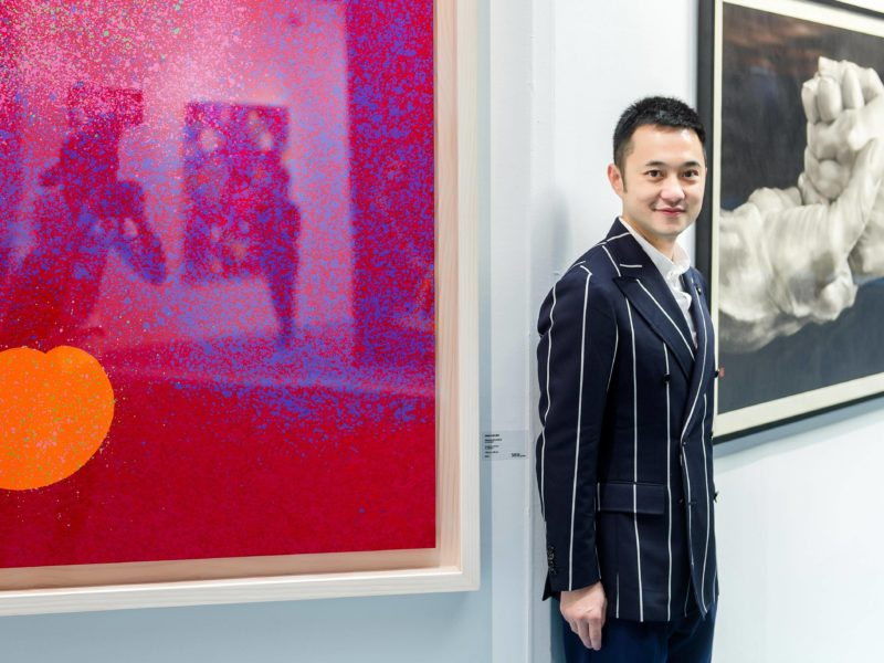 3812 Gallery co-founder Calvin Hui: 'I'm very confident in the London market'