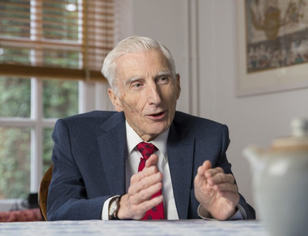 Liquid lunch with Martin Rees: 'an insect is more complicated than a star'
