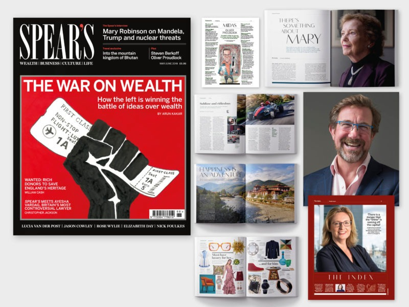 The War on Wealth: Inside the latest edition of Spear's