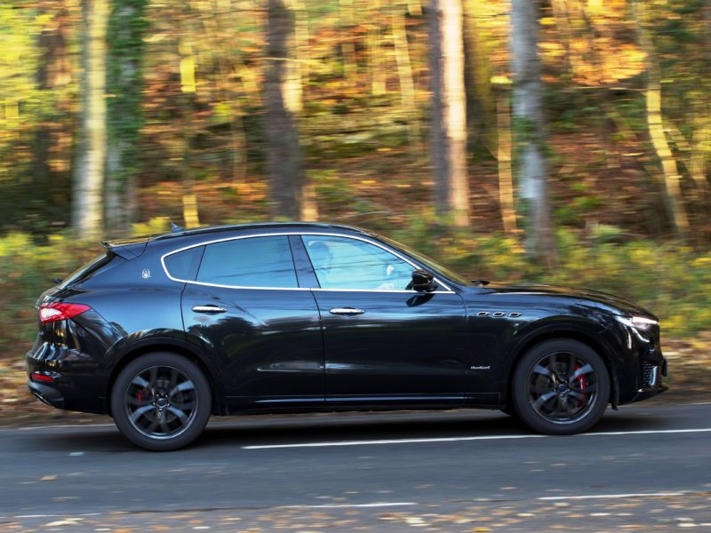 Maserati Levante GranSport: 'powerful yet practical with gold-plated badge appeal'