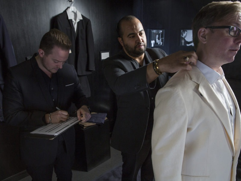Style: inside the new £30,000 'ultra-stylish' bespoke wardrobe