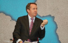 Liam Fox: 'there's no room for complacency'