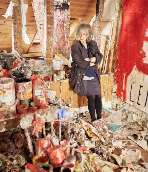 Spear's meets Rose Wylie, art's coolest, most colourful octogenarian who isn't afraid to be brave