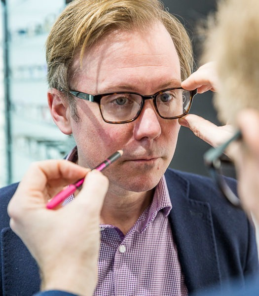 Tom Davies: going bespoke with the 'dynamo' of spectacles