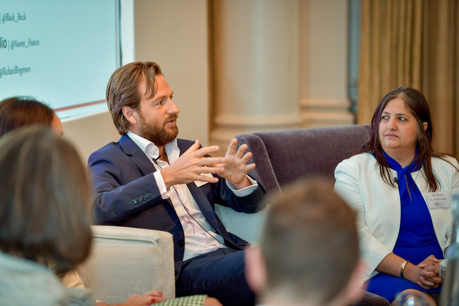 Richard Rogerson of RGF Property speaks at the 2019 Spear's Wealth Insight Forum