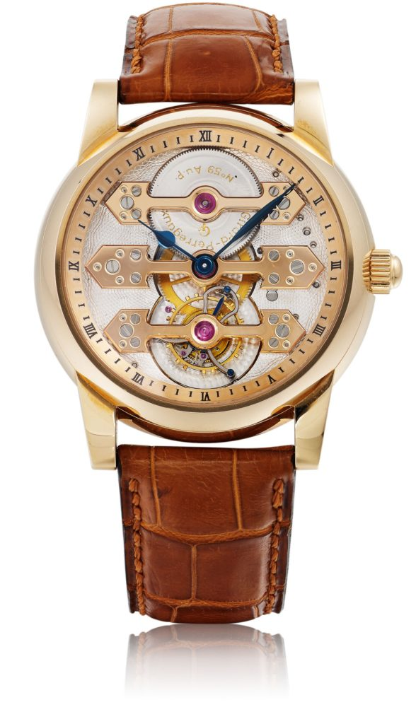 Girard-Perregaux Three Bridge Tourbillon, introduced in 1991