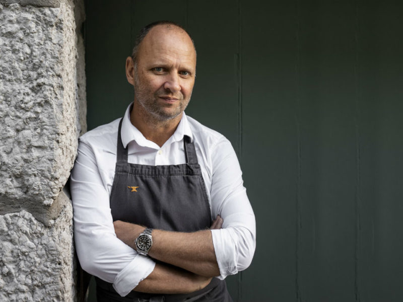 William Sitwell meets Simon Rogan: 'I don't think people fear my arrival in the kitchen anymore'