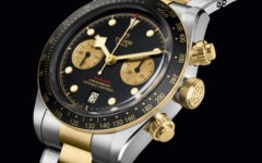 The two-tone watch is making a timely comeback