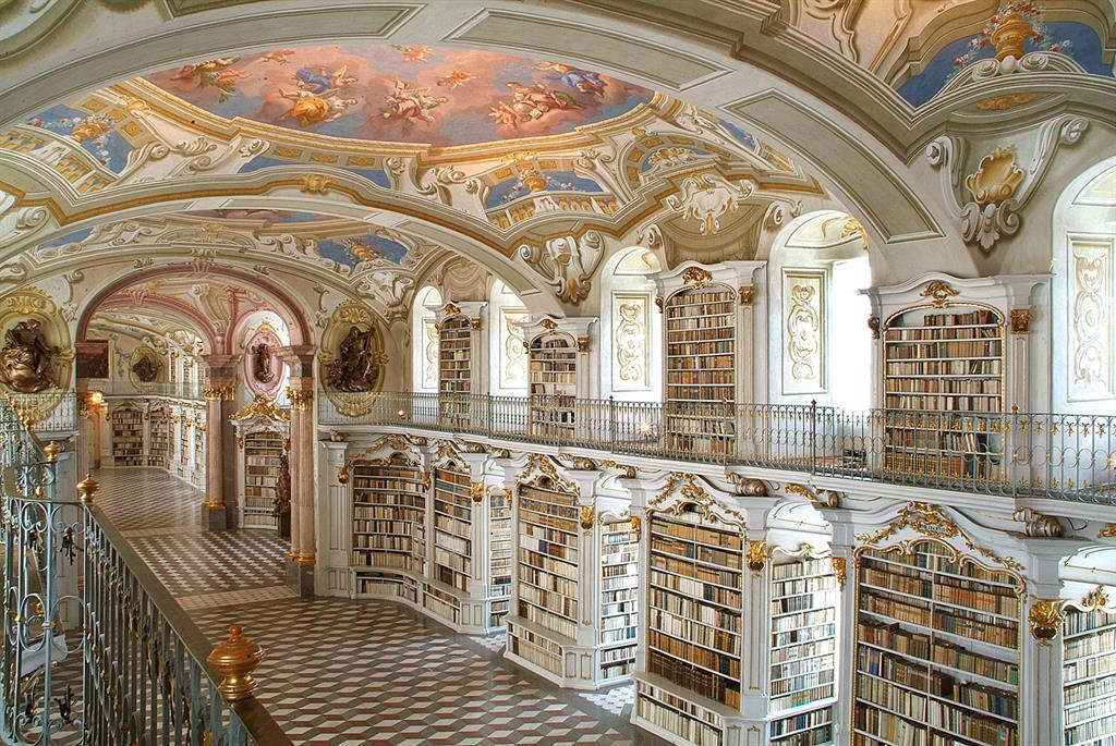 Stiftsbibliothek Admont or Abbey Library of Admont