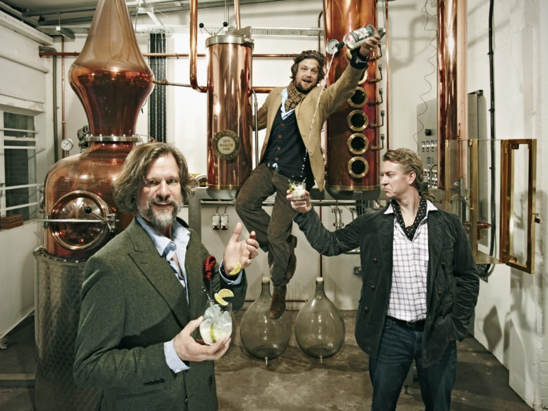 William Sitwell reconnects with Sipsmith's gin masters, a decade later