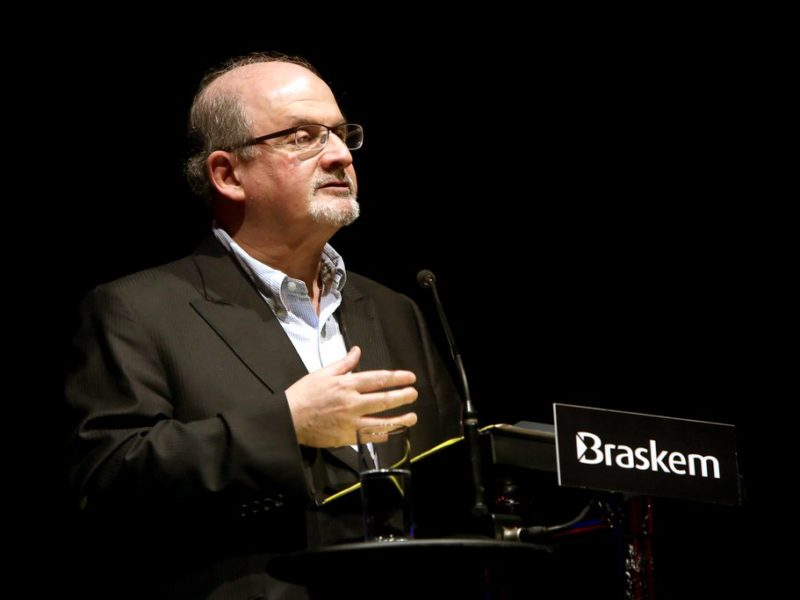 Interview: Salman Rushdie on Trump, Greta and eating the rich