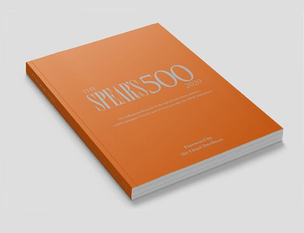 Introducing the Spear's 500 2020: The bible of wealth management is back, and bigger than ever