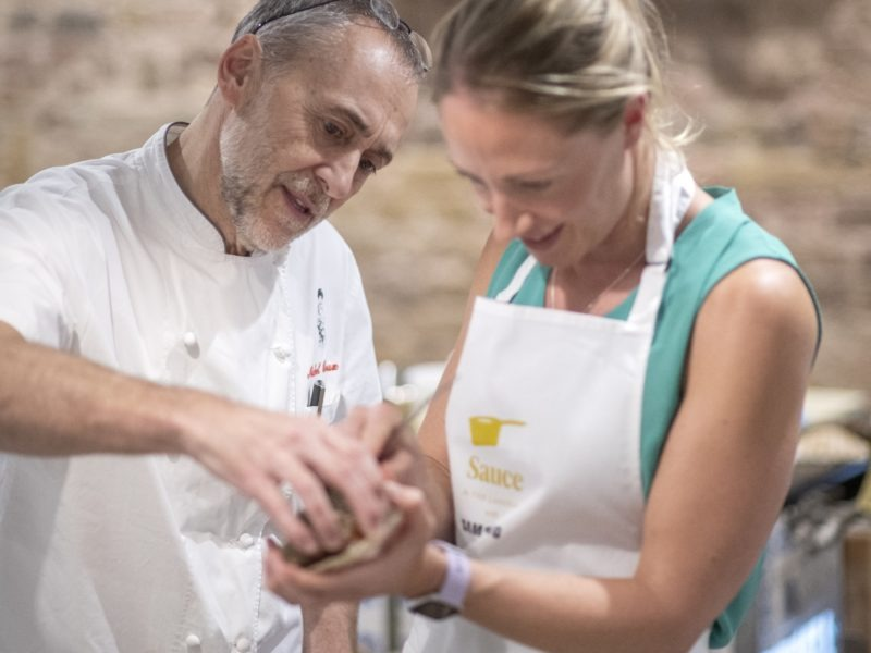 The sauce of all knowledge: Sampling The Langham's cookery school