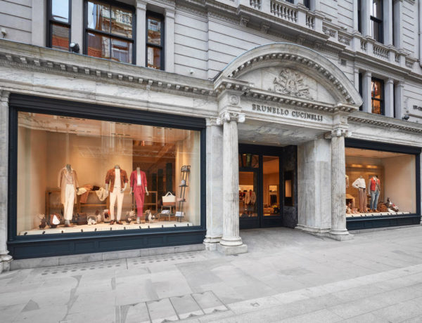 Brunello Cucinelli's new London boutique is clothed in history