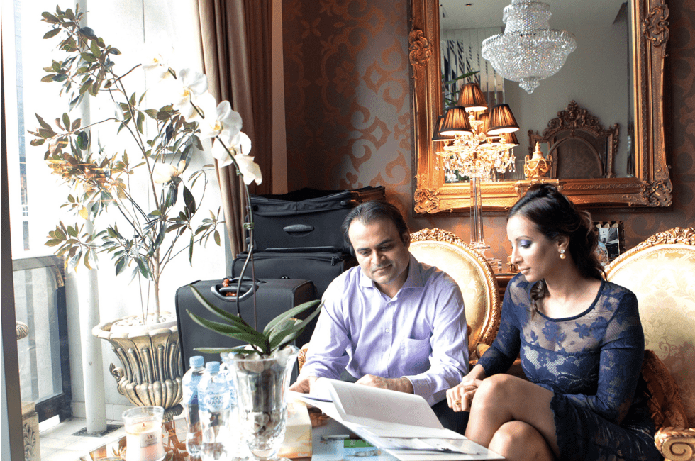 Panakaj and Radhika Oswal are taking their daughter's former school to court