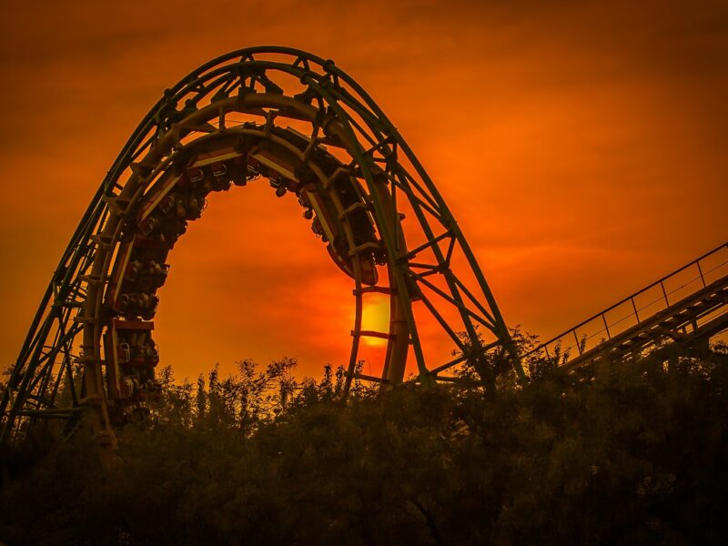 For investors, 'the roller coaster ride is unlikely to be over just yet'