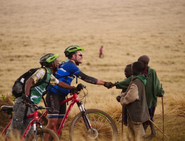 UK Africa travel industry takes to two wheels to protect African rangers & wildlife