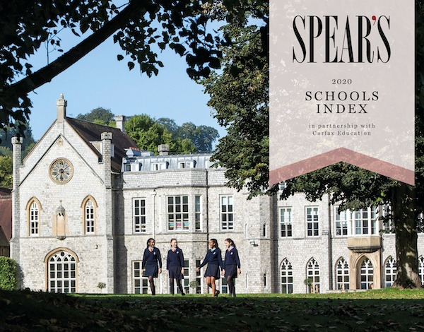 The Spear's Schools Index in partnership with Carfax Education: Top Ten China