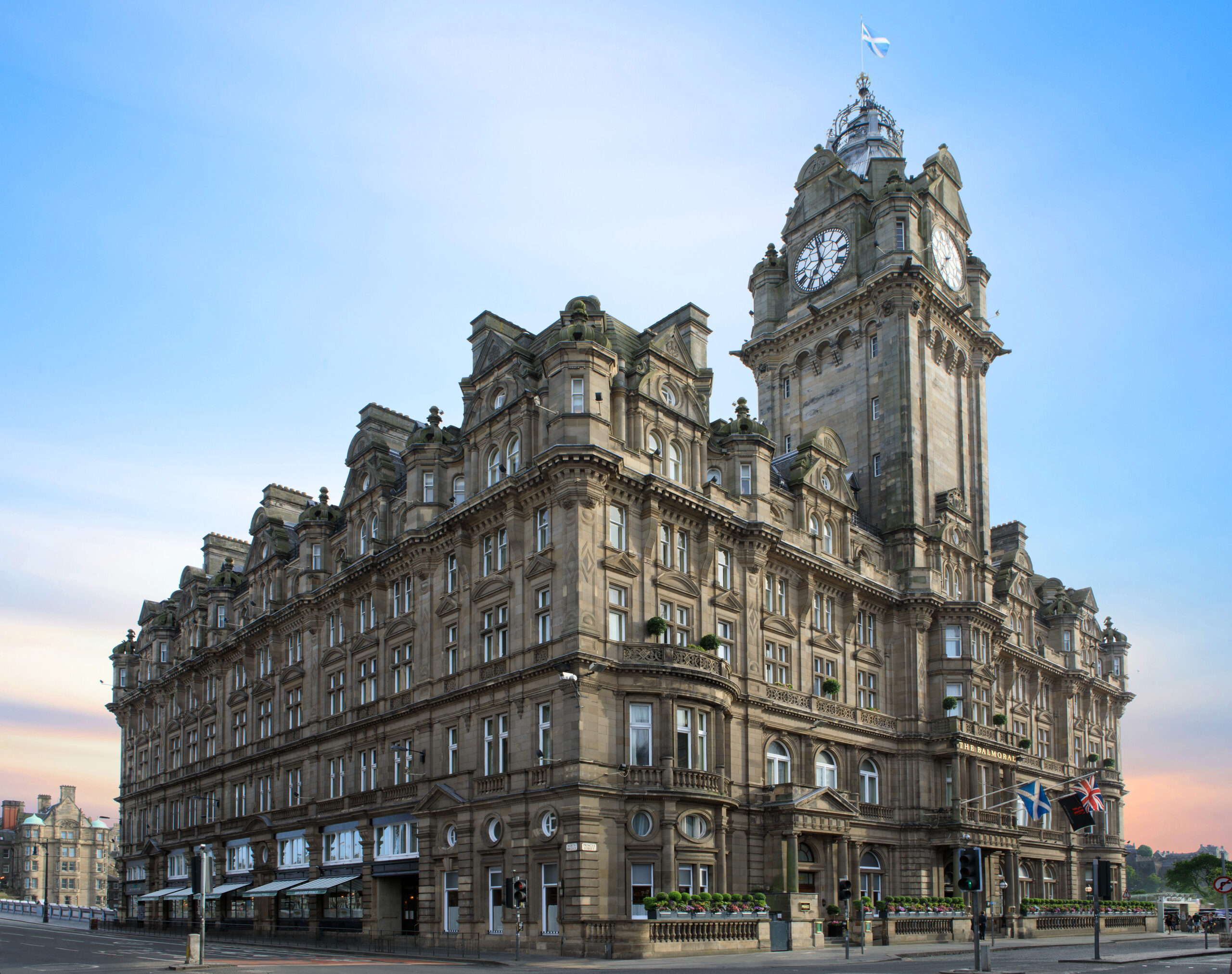 The Balmoral, Edinburgh hotel review: 'Quite an achievement'