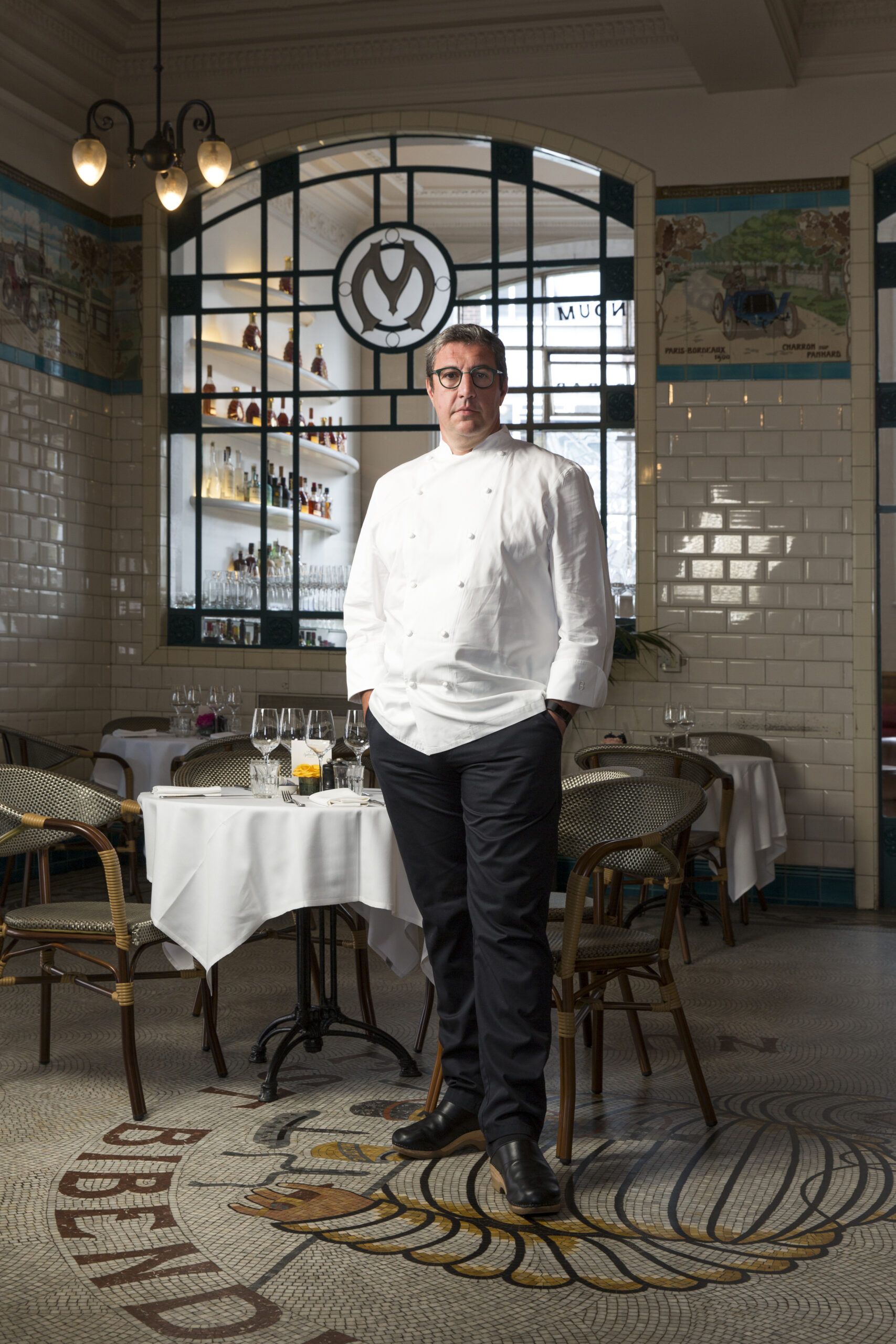 William Sitwell meets Claude Bosi: 'Some of my friends say I'm more British than them'