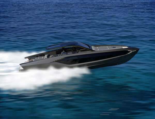 Why Lamborghini's first-ever boat is 'no slouch'