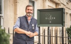 Mike Robinson is a restaurateur in the right place at the right time