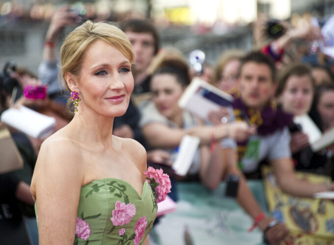 Jk,Rowling,Arriving,For,The,World,Premiere,Of,'harry,Potter