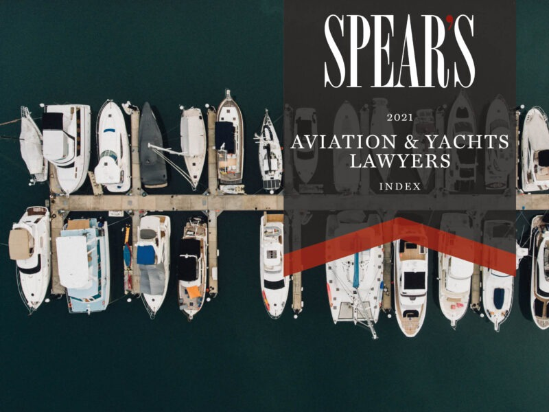 The best aviation and yacht lawyers for high-net-worth individuals