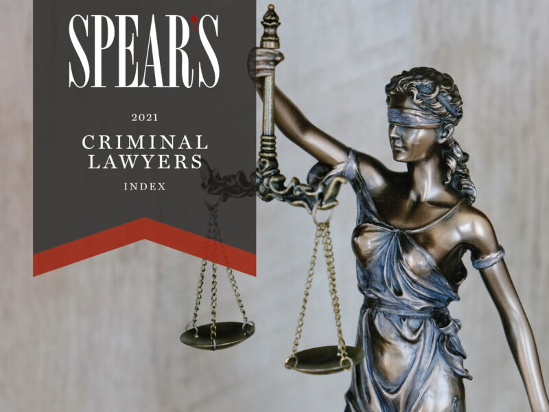 The best criminal lawyers for high-net-worth individuals