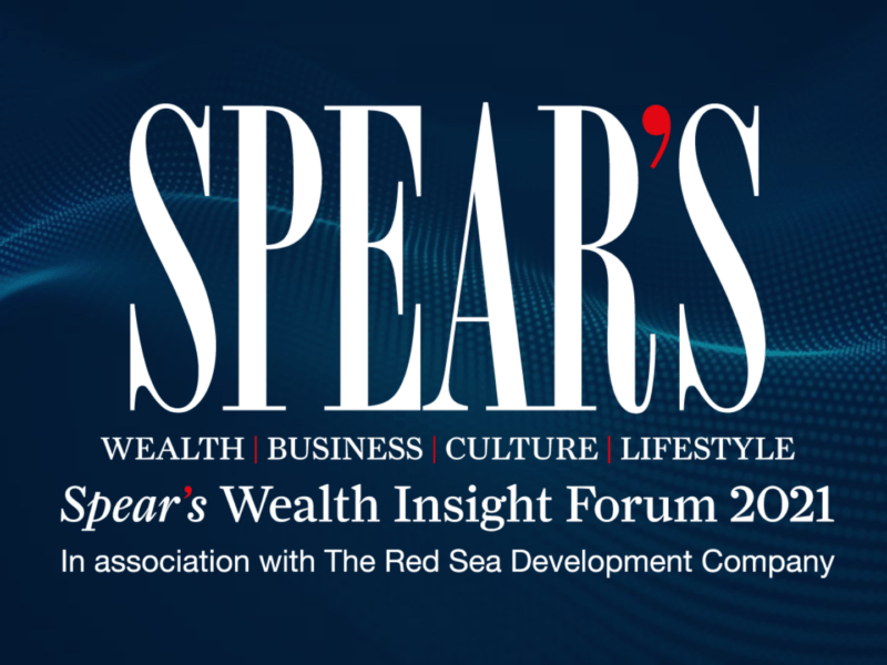 Spear's Wealth Insight Forum 2021: Watch on demand now
