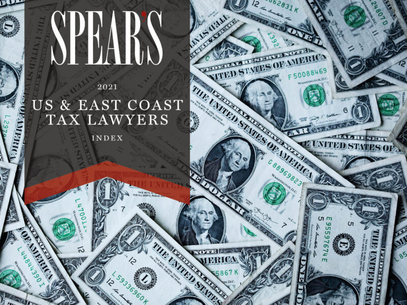 The best US East Coast tax and trust lawyers for high-net-worth individuals