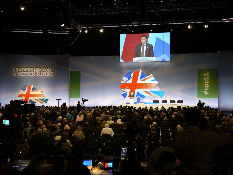 Why party conferences offer opportunities hidden in plain sight