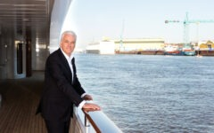 Peter Lürssen on building a luxury superyacht brand and support for ocean charity BLUE